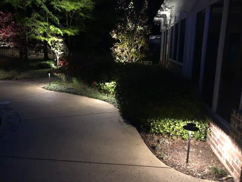Landscape Lighting Picture Roanoke