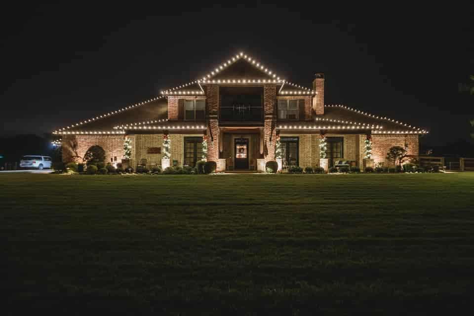 Roof Christmas Lights Roanoke