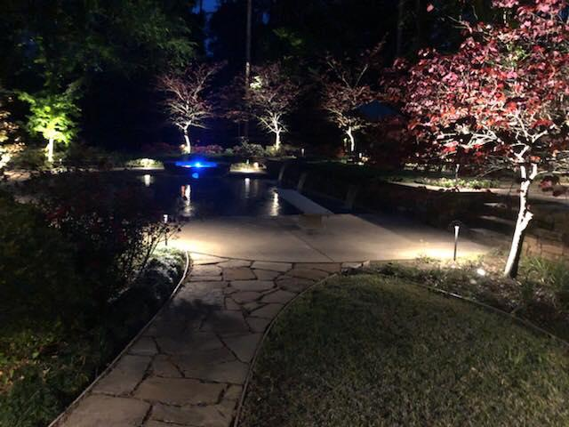 Wifi controlled outdoor lights Roanoke TX 1